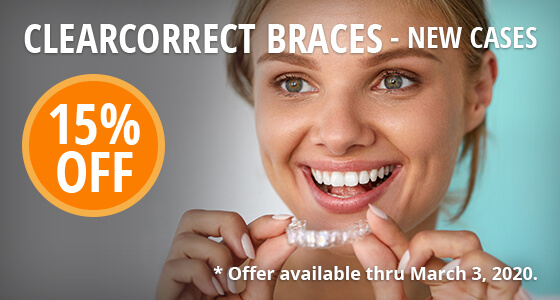 15% off clearcorrect braces